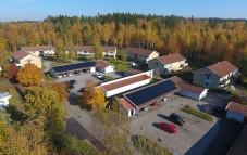 Ny solcellsanäggning på plats