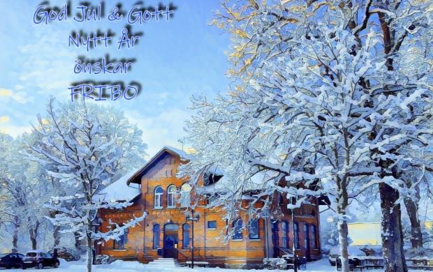 God Jul önskar FRIBO
